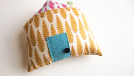 DIY House Pillow